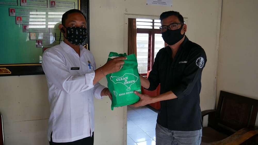 Support kepada pemerintah desa Yangapi
