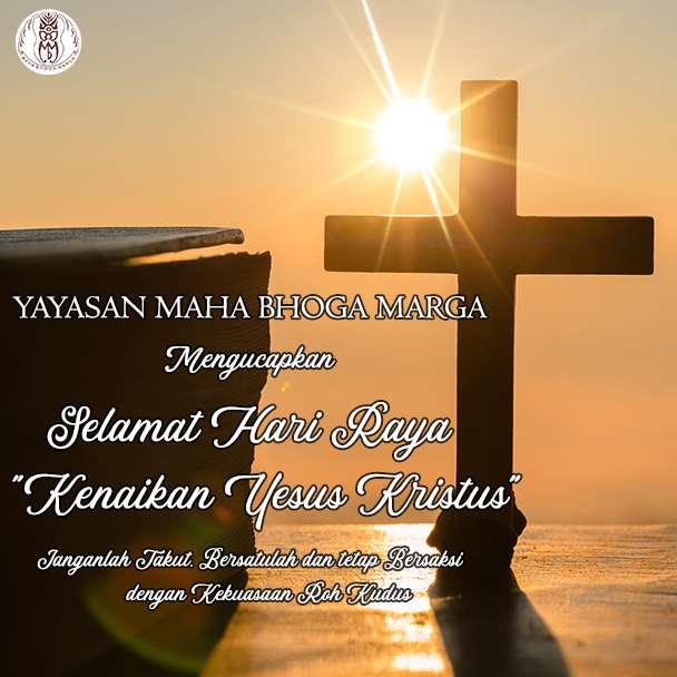 Selamat Hari Raya Kenaikan Yesus Kristus