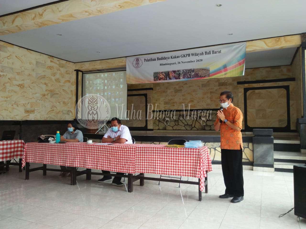 Pelatihan budidaya kakao GKPB Wilayah Barat