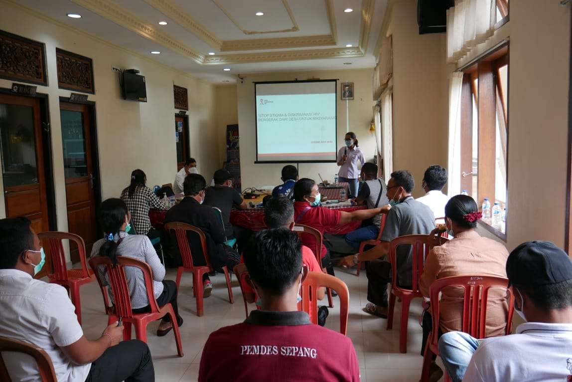 Pelatihan Kader Peduli HIV & AIDS