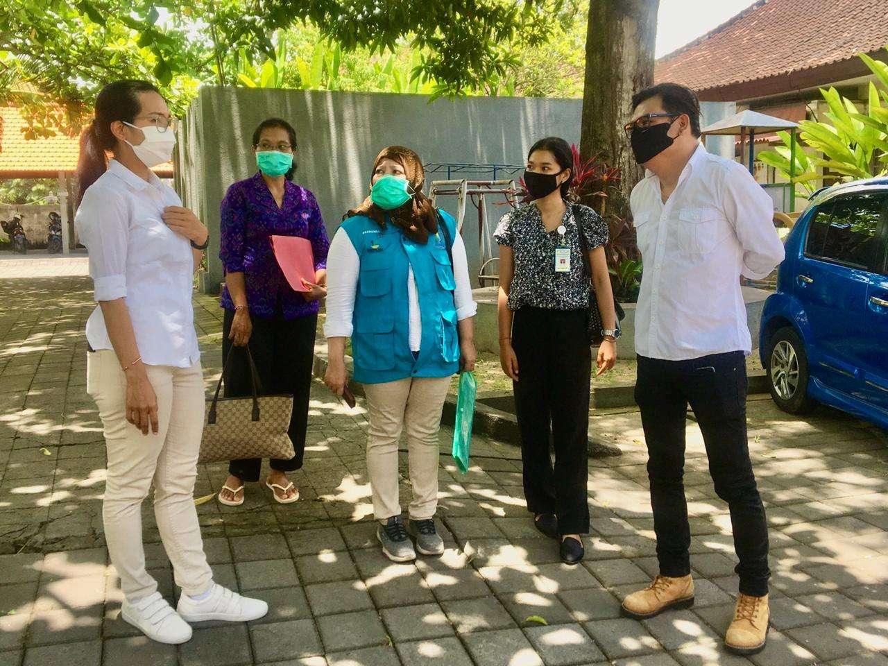 Kunjungan dari Kementrian Sosial terkait PROGRES LU