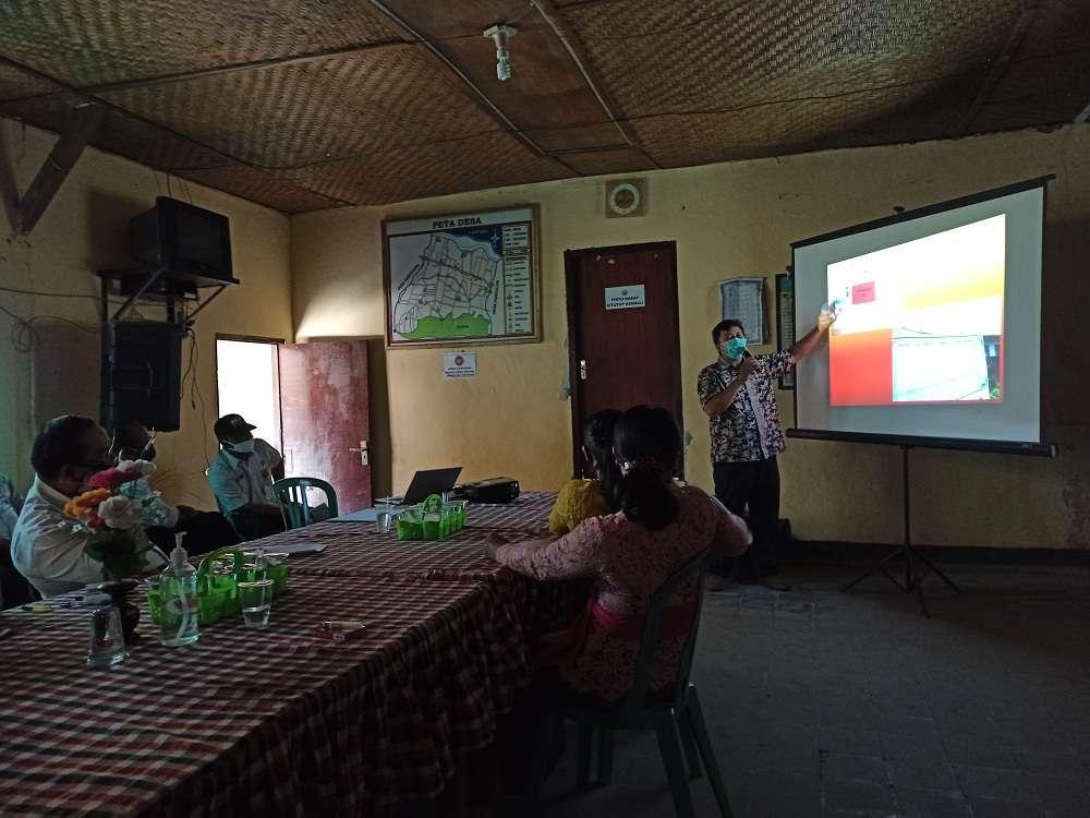 Penguatan kapasitas kepada Pemerintah Desa Patas, Buleleng